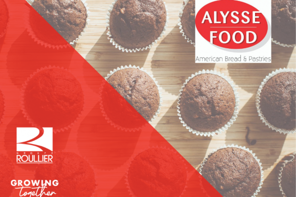 Groupe Roullier bolsters its agri-food division through the acquisition of Alysse Food, a belgian company specialising in the production of pastries and baked goods