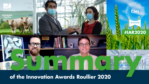 Innovation Awards Roullier – Une édition 2020 digitale inédite !