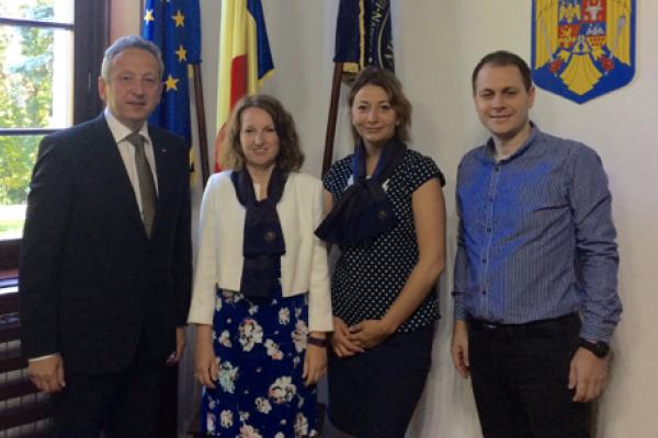 Nouveau partenariat expérimental en Roumanie