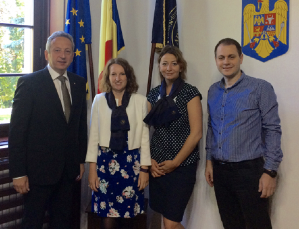 New testing partnership in Romania