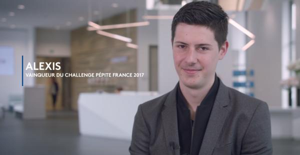 Le vainqueur du Challenge Pépite France 2017 en visite au CMI