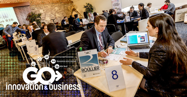 Go Innovation & Business Convention: Groupe Roullier meets with start-ups