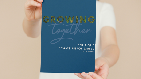 Interview with Julie Agaësse as she gives us the low-down on the launch of our Responsible Purchasing Policy!