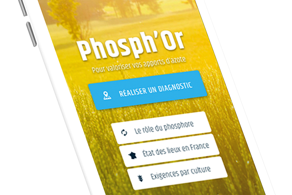 TIMAC AGRO France strengthens its support for farmers with the launch of the dedicated Phosph'Or app