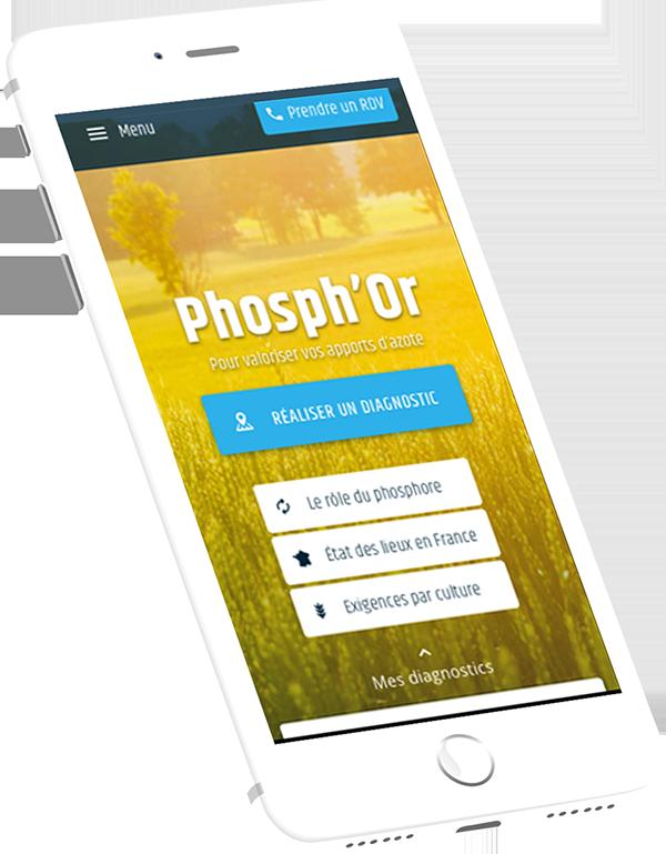 TIMAC AGRO France renforce son accompagnement aux agriculteurs en lançant une application dédiée auPhosph'Or