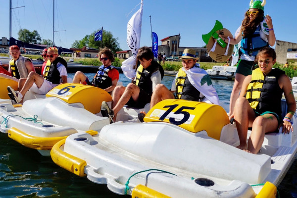 The winners of the Dare to Drakkar race (InterAgros) spent 3 days in Saint-Malo !